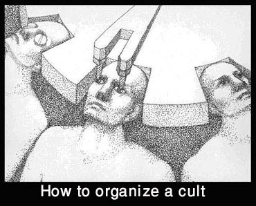 How to organize a cult