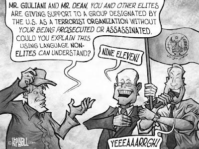 Paid Advocacy for MKO Terrorists -  Kip Liyall