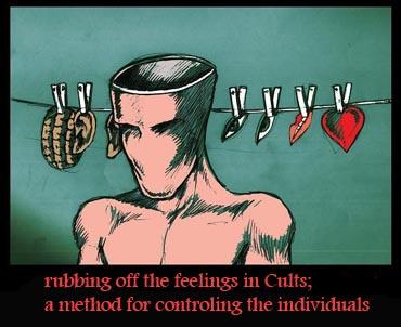 Rubbing off the feelings