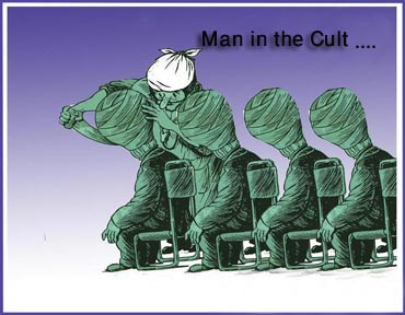 Man in the Cult...!