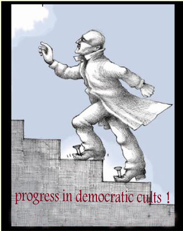 Progress in democratic cults