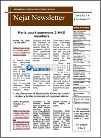 Nejat NewsLetter-ISSUE NO.16