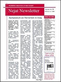 Nejat NewsLetter-ISSUE NO.20