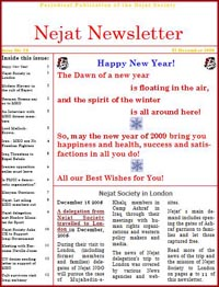 Nejat NewsLetter ISSUE NO.26