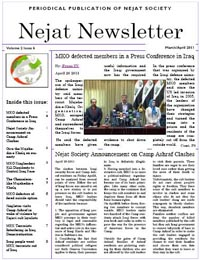 Nejat NewsLetter ISSUE NO.29