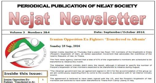 Nejat NewsLetter ISSUE NO.40