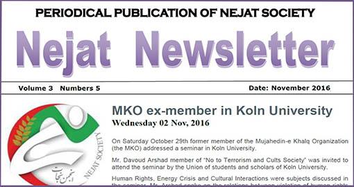 Nejat NewsLetter ISSUE NO.41