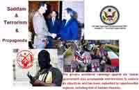 Saddam,Terrorism and propoganda