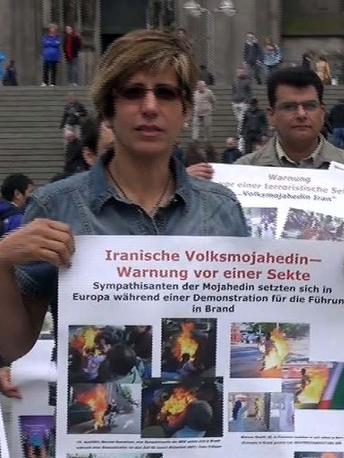 MKO ex-members protest action in Cologne