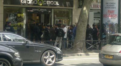 Ex-members rally in Paris and MKO members violence