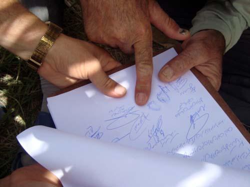 نامه خانواده های اعضای سازمان مجاهدین خلق در آلبانی