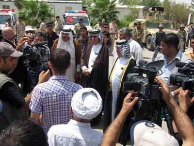 شیوخ عشایر عربی در استان دیاله با ابراز انزجار از اقدامات تروریستی گروه مجاهدین علیه ملت عراق، خواستار اخراج این گروه از کشورشان شدند.