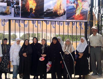 Families vow to stop the use of their children as Rajavi human torches