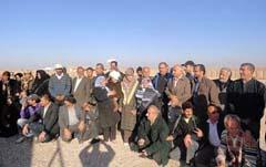 خانواده های عضو انجمن نجات فارس عازم کمپ اشرف شدند