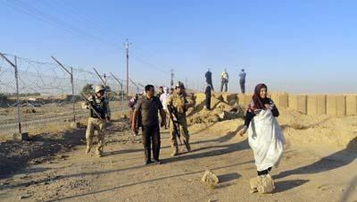 معسكر اشرف في محاصرة القوات العراقية والايرانية!
