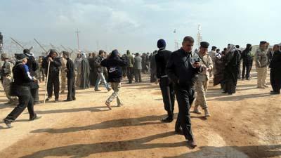 تظاهرات علیه حضور مجاهدین در عراق
