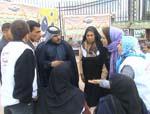 حضور خانواده های استان فارس درب کمپ اشرف