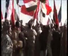 تظاهرة حاشدة بمحافظة ديالى تطالب بطرد المجاهدين من العراق