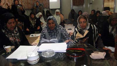 Families determined to bring hope and love back to Ashraf residents