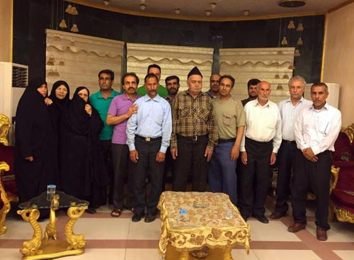 خانواده هایی از استانهای خراسان رضوی، خوزستان و یزد، فردا صبح عازم کمپ لیبرتی هستند
