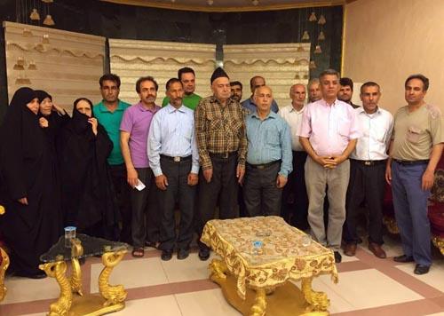 خانواده های سکنه کمپ لیبرتی وارد بغداد شده و برای ملاقات تقاضای کمک دارند