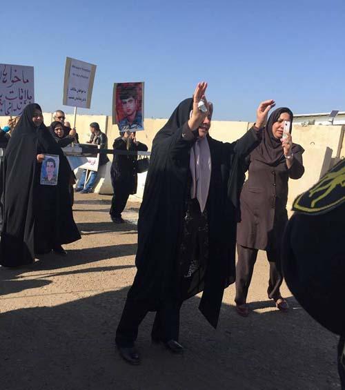 نامه خواهران ایران پور به کمیساریا و درخواست عکس