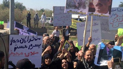 تلاش مجدد خانواده های مجاهدین برای ملاقات با اسیرانشان در کمپ لیبرتی