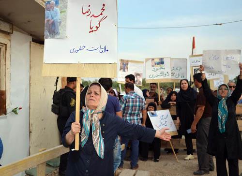 نوید رهایی: گزارش تصویری از حضور خانواده ها در کمپ لیبرتی (4 خرداد 95)