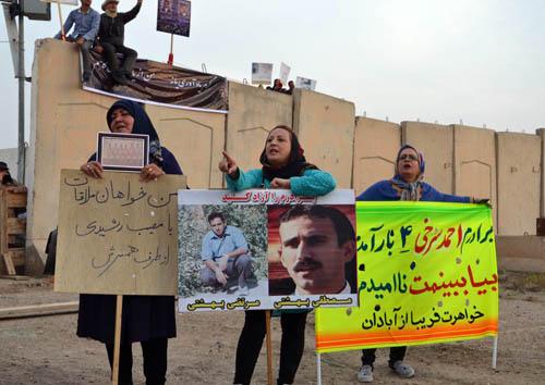 آبادان؛ گزارش تصویری از حضور خانواده ها در کمپ لیبرتی (4 خرداد 95)