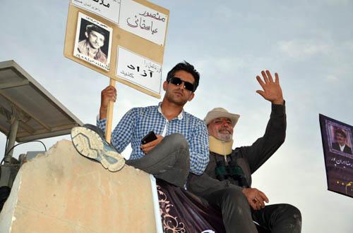 گزارش تصویری از حضور خانواده ها در کمپ لیبرتی (4 خرداد 95)