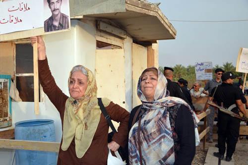نوید رهایی ؛ گزارش تصویری از حضور خانواده ها در کمپ لیبرتی (4 خرداد 95)