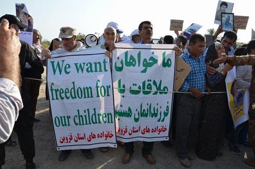 ابراز نفرت هزاران باره ی فرقه ی رجوی از خانواده ها!