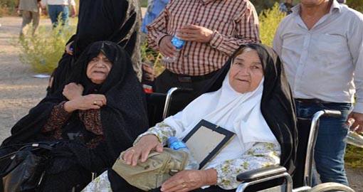 لیبرتی: خانواده های اسرای فرقه رجوی