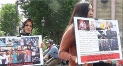تظاهرات اعضای جداشده  در فرانسه و آلمان علیه مریم رجوی