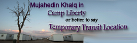 Mujahedin in Camp Liberty or Temporary Transit Location