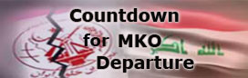 Countdown for MKO departure