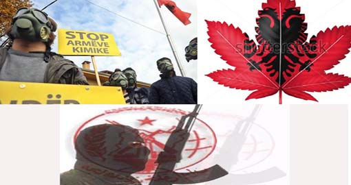 Albania: Toxic Waste, Cannabis and the Iranian Mojahedin Khalq are part of the same equation under the devilish Justice Reform