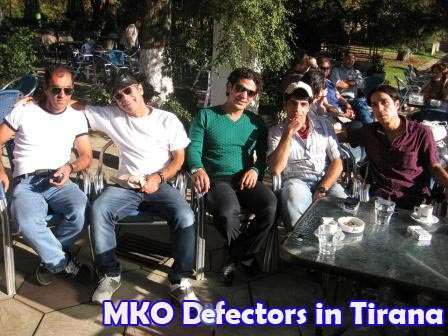 Pictorial- MKO defectors in Tirana