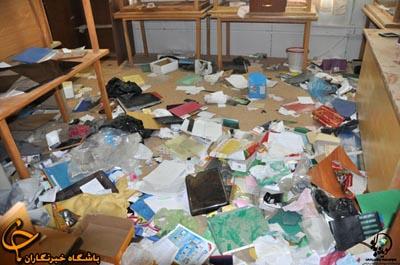 Camp Ashraf after evacuation