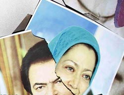 Rajavi hideout in Camp Ashraf