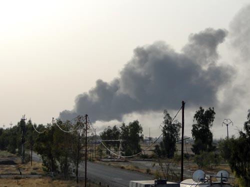 درگیری های 10 شهریور 92 و تخلیه کامل قرارگاه اشرف