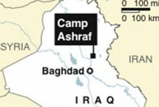 Salim said that the Iraqi government has taken the very first step to relocate the members of the group from their headquarters, Camp Ashraf, to a camp inside Baghdad