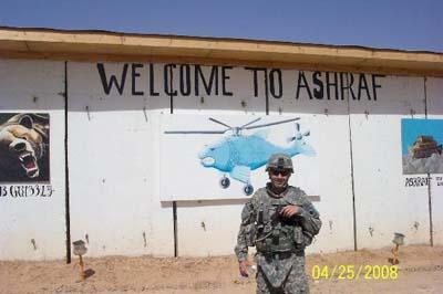 سربازان آمریکایی در اشرف