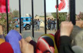 MEK members clash with police in Camp Ashraf