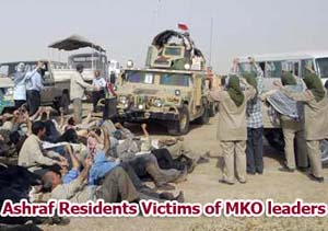 human shield and mass suicides of MKO memebrs under the order of leaders