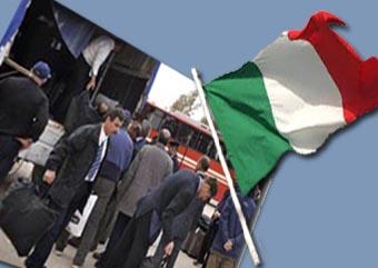 ایتالیا ۱۵ تن از اعضای گروه مجاهدین را پذیرفت