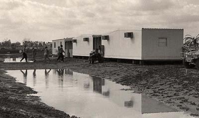 ما اخبار مخيم ليبرتي المؤقت في بغداد؟