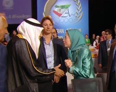 ارتباط خبر مرگ رجوی با دست ندادن مریم قجر با شاهزاده وهابی