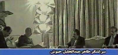 مسعود رجوی و مهدی ابریشمچی در خدمت استخبارات صدام حسین
