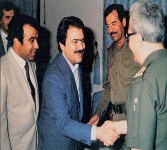 الإبادة العرقیة في نظام صدام  ودور منظمة خلق